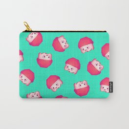 Champ pattern Carry-All Pouch