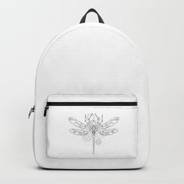 Contour Steampunk Mechanical Dragonfly Backpack