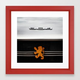 504 Framed Art Print