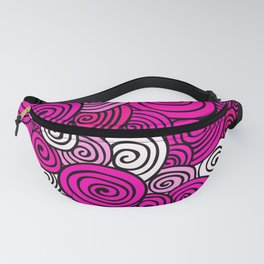 African Style No23, Pink dance Fanny Pack