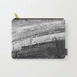 Barrels In Black & White Carry-All Pouch