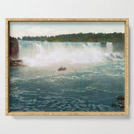 American Falls from Canada - Vintage Niagara - 1898 Serving Tray