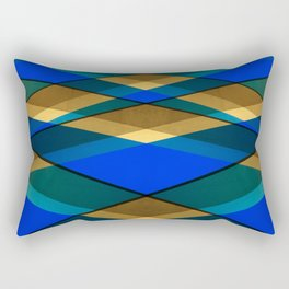 Geometrical architecture lines Rectangular Pillow