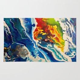 Deep Sea Rainbow Rug