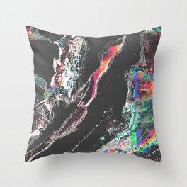 ƒun at parties Throw Pillow