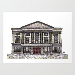 Shrewsbury Museum and Art Gallery, Original Art Print