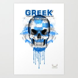 To The Core Collection: Greece Art Print