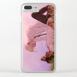 Boys in Love Clear iPhone Case