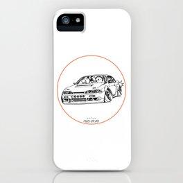 Crazy Car Art 0201 iPhone Case