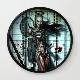 The Sweet Suffering Wall Clock