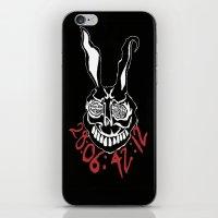 donnie darko iPhone & iPod Skins featuring Donnie Darko countdown by Joshua S