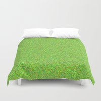 lime Duvet Covers featuring lime by ecceGRECO