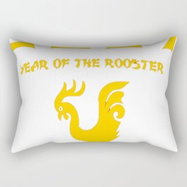 2017 Chinese New Year of the Rooster T-Shirt Rectangular Pillow