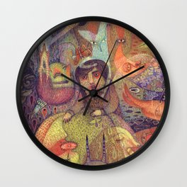 The Stubbornness of Memories Wall Clock