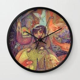 The Stubbornness of Memories Wall Clock
