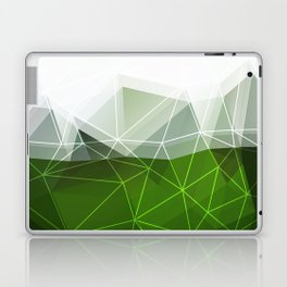Green abstract background Laptop & iPad Skin
