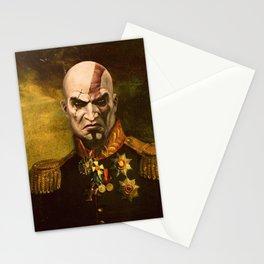 Kratos General Portrait Painting | god of war Fan Art Stationery Cards