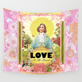 love is all around Wall Tapestry