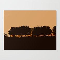 Harvey's Neck Sunset Canvas Print