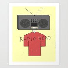 Radiohead Art Print