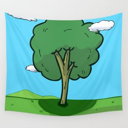 The Land Of Ooo Wall Tapestry