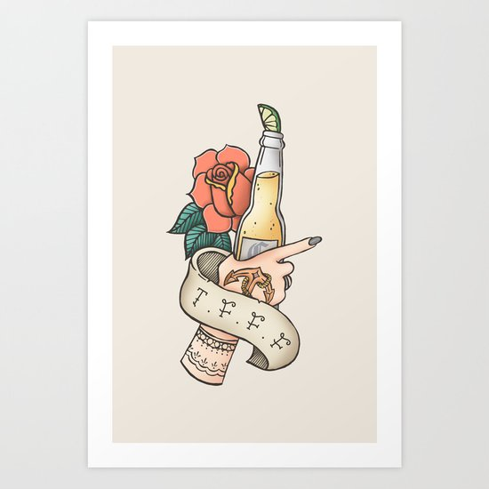 Thank F*** For Fridays Art Print