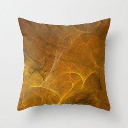 Time Fibre Throw Pillow
