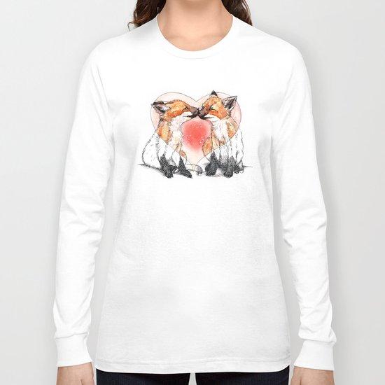 baby fox love Long Sleeve T-shirt
