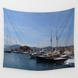Marmaris Yachting Marina - Netsel Wall Tapestry