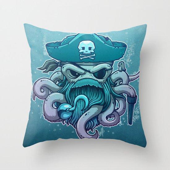 The Legendary Arrrctopus Throw Pillow