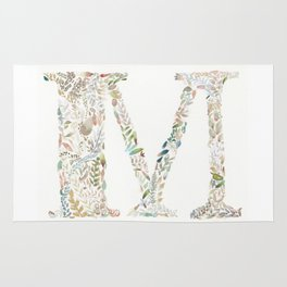 M of Leaves Rug