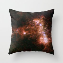 Small Magellanic Cloud, infared Throw Pillow