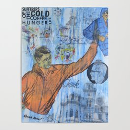 Cold Coffee Hunger Poster