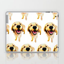 Good Boy / Yellow Labrador Retriever dog art Laptop & iPad Skin