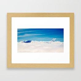 Volcanes Framed Art Print
