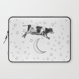 Cow Jumping Over The Moon Laptop Sleeve