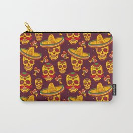 Day of the Dead (Sugar Skulls) Carry-All Pouch