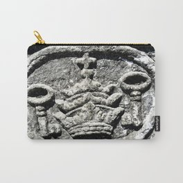 Ancient Church Carvings Carry-All Pouch