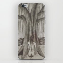 Dreaming By the Willow iPhone Skin