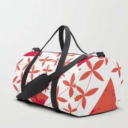 Shapes in Nature : Red Duffle Bag