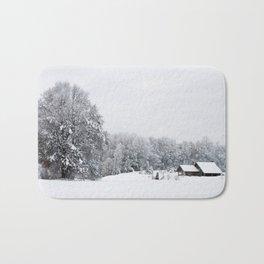 Winter Snows Bath Mat
