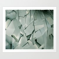 metal Art Prints featuring METAL by peocle