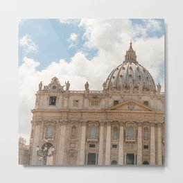 st. peter church  Metal Print