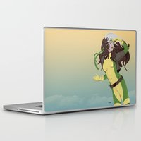 90s Laptop & iPad Skins featuring rogue (90s) by Andrew Formosa