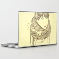 planet Laptop & iPad Skins featuring planet by 13diamondhearts