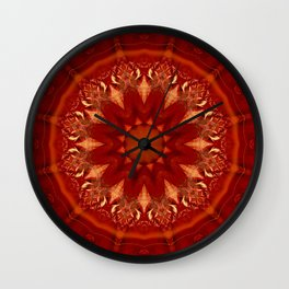 Mandala Shanti 1 Wall Clock