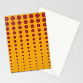 Orange & Red Reduced Polka Dot Pattern Rustoleum 2021 Color of the Year Satin Paprika Harvest Peach Stationery Cards
