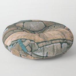 pieces of wood Floor Pillow
