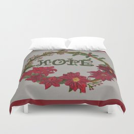 Hope for the Holidays Duvet Cover