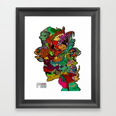 All For One Framed Art Print